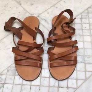 Madewell Boardwalk Multi-Strap Sandal